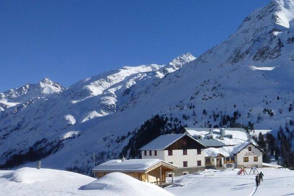 Winter Präsentationsbild Rifugio Nino Corsi / Zufallhütte