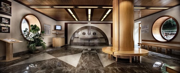 Photo of the wellness area Grand Hotel Rabbi