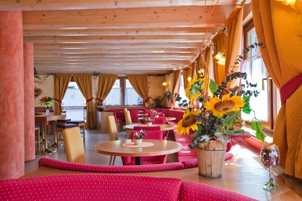The common areas Hotel + Residence Val di Sole