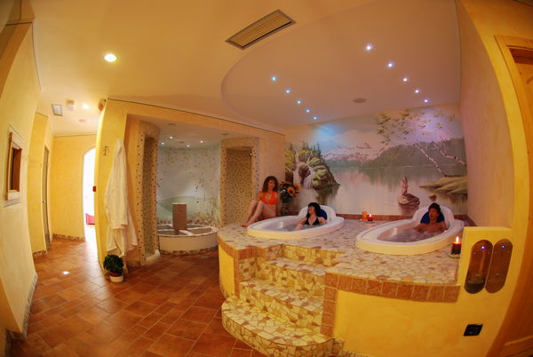 Photo of the wellness area Hotel Job