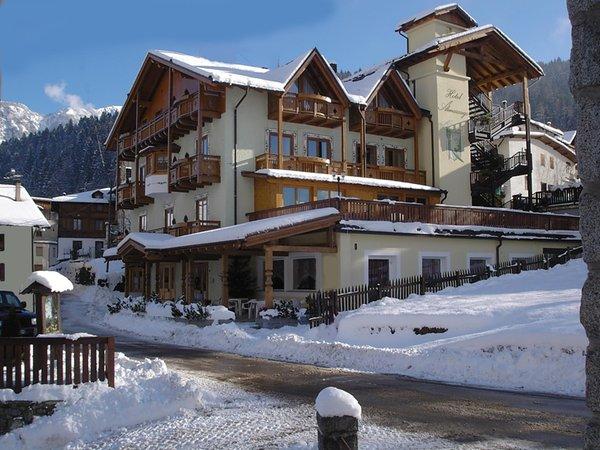 Foto invernale di presentazione Hotel Almazzago