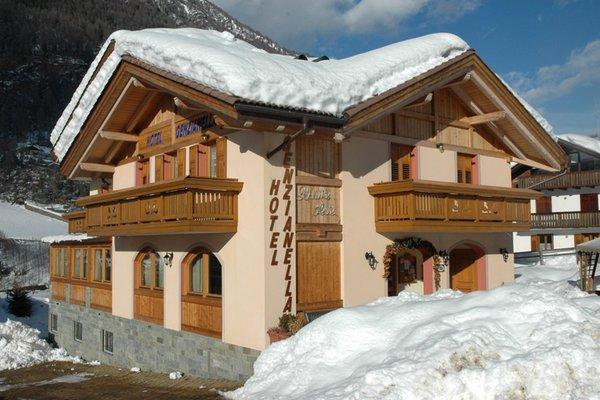 Foto invernale di presentazione Genzianella - Hotel 3 stelle