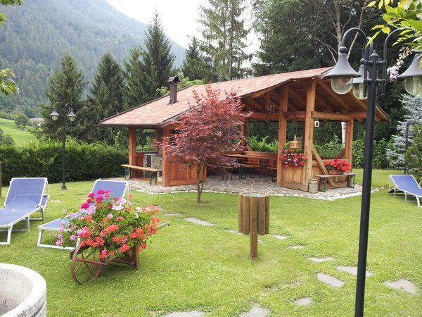 Foto del giardino Almazzago (Folgarida - Dimaro)