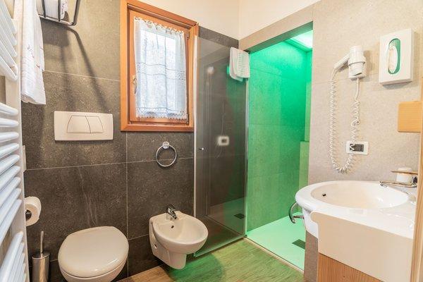 Foto del bagno Hotel Genzianella