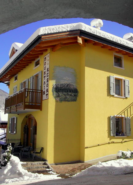 Foto esterno in inverno Mountain Resort