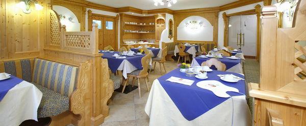 Il ristorante Commezzadura Mountain Resort