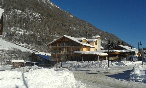 Foto esterno in inverno La Moretina