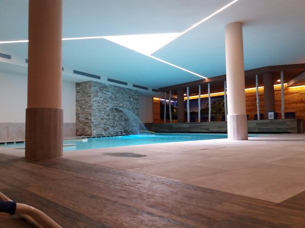 Foto des Hallenschwimmbads