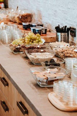 Das Frühstück Aparthotel Gaia