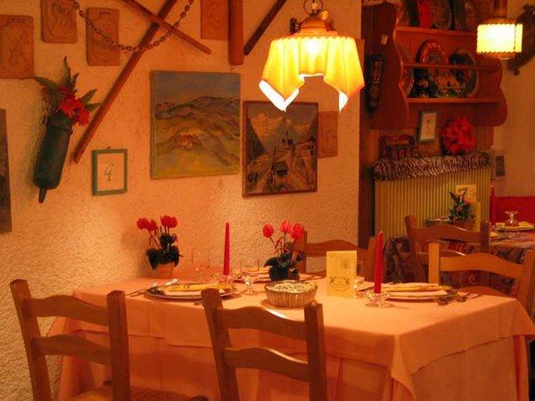 Il ristorante Marilleva Bucaneve