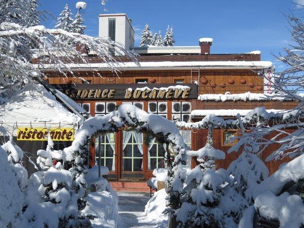 Foto invernale di presentazione Residence Bucaneve