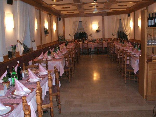 Il ristorante Pellizzano Cova