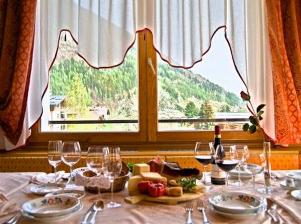 Il ristorante Fucine (Val di Sole) Pangrazzi