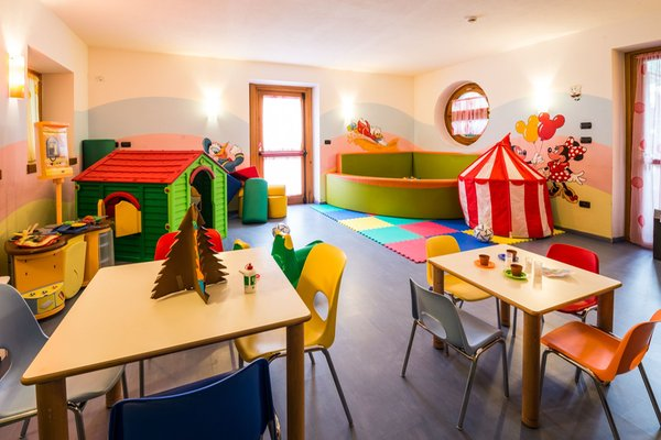 The children's play room Hotel Rosa degli Angeli