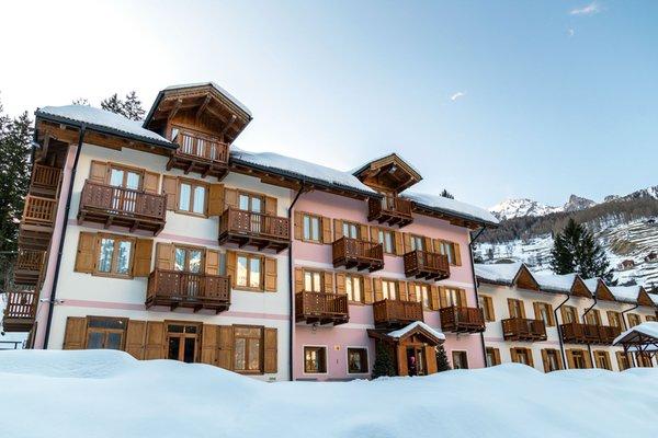 Foto invernale di presentazione Hotel Aurora