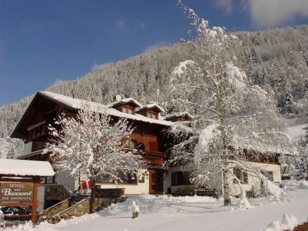 Foto invernale di presentazione Hotel Biancaneve