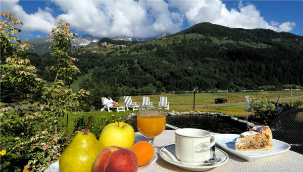 The breakfast Hotel Biancaneve
