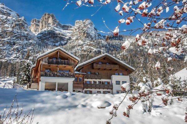 Winter Präsentationsbild Ferienwohnungen Rosra