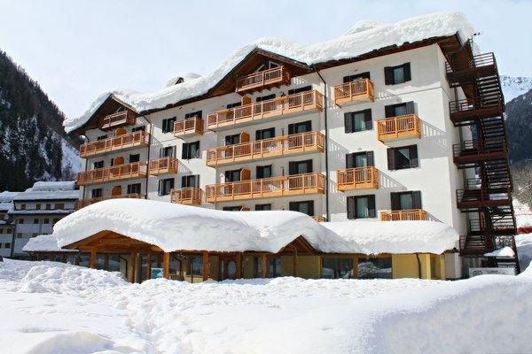 Foto invernale di presentazione Cristallo - Hotel 3 stelle