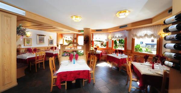 Das Restaurant Cogolo di Peio Gran Zebrù