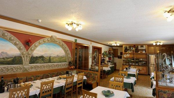 Il ristorante Peio Terme Santa Maria