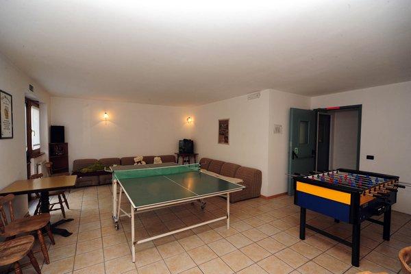 La sala giochi Sport Hotel Stella Alpina