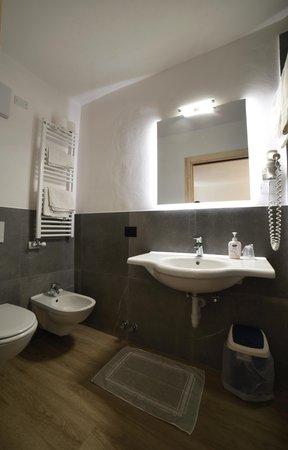 Foto del bagno Hotel Zanella
