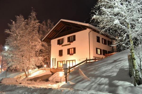 Foto invernale di presentazione Albergo Sporting