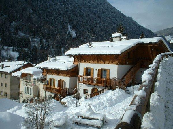 Foto invernale di presentazione Residence Arnica