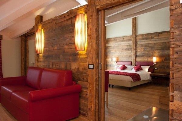 Foto vom Zimmer Hotel Delle Alpi