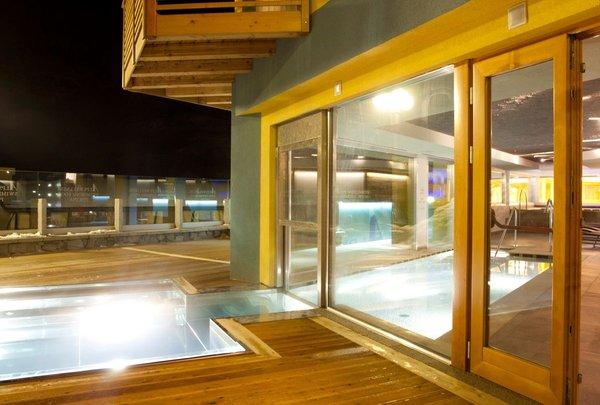 La piscina Hotel Delle Alpi