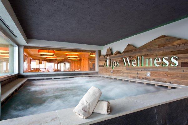 Foto vom Wellness-Bereich Hotel Delle Alpi
