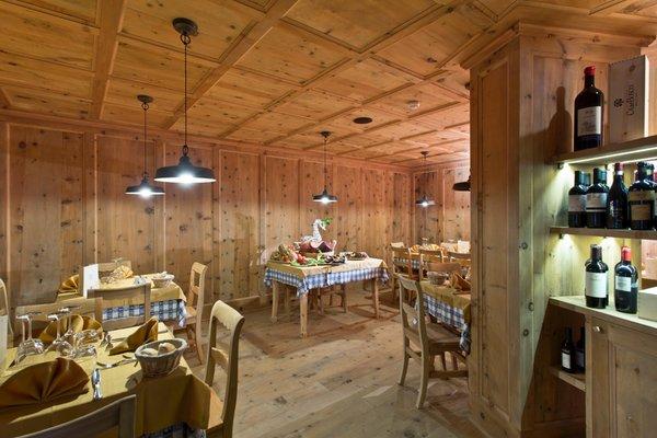 Das Restaurant Passo Tonale Delle Alpi