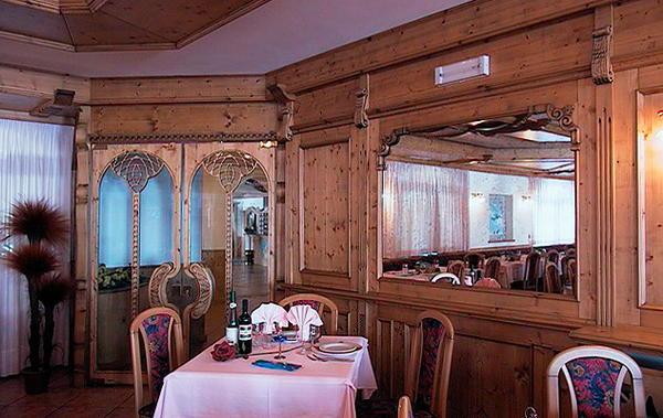 Il ristorante Passo Tonale Gardenia