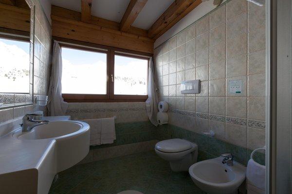 Foto del bagno Hotel Sporting