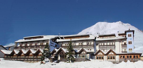 Foto invernale di presentazione Sporting - Hotel 3 stelle sup.