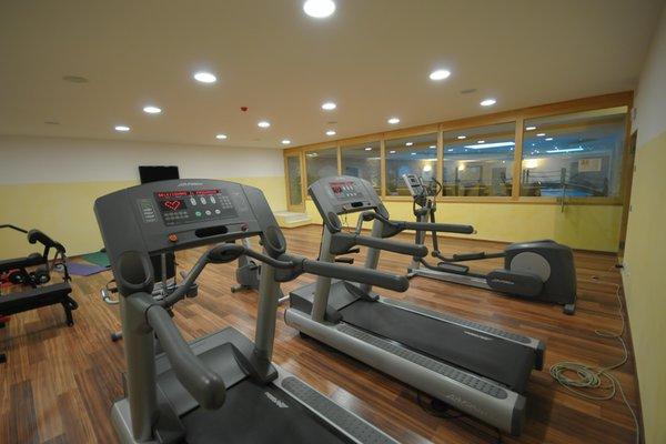Foto della zona fitness Hotel Sporting