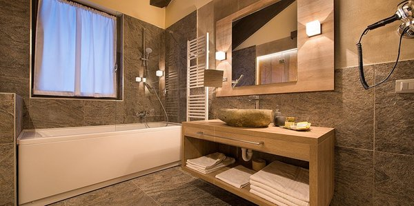 Photo of the bathroom Hotel Adamello