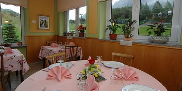 Il ristorante Passo Tonale Bezzi