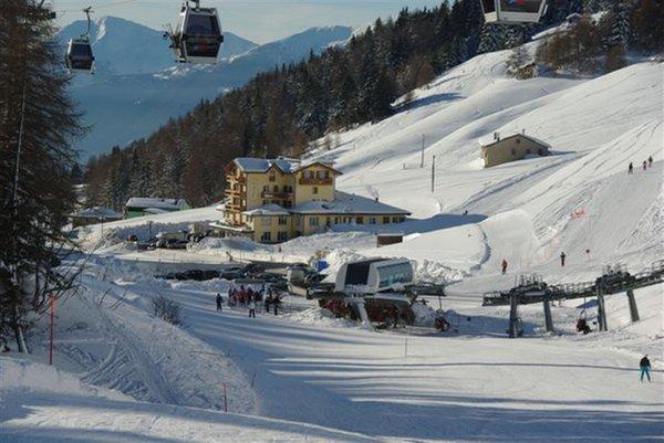 La posizione Hotel Bezzi Passo Tonale