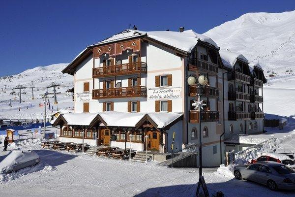 Foto invernale di presentazione Hotel La Torretta