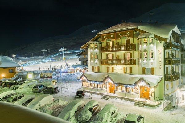 Foto esterno in inverno La Torretta