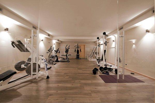 Foto della zona fitness Hotel La Torretta