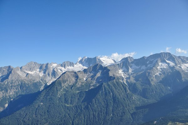 Panoramic view Passo Tonale