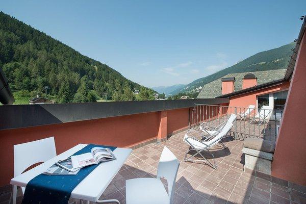 Foto del balcone Residence Club Ponte di Legno
