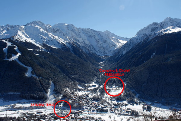 La posizione Appartamenti Chalet Presanella Temù (Passo Tonale)