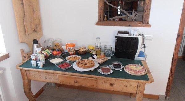La colazione Baita Scaia - B&B + Appartamenti