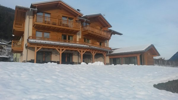 Winter presentation photo Il Tempo delle Mele - Rooms in farmhouse