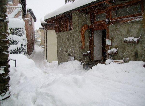 Foto invernale di presentazione Belotti - Camere in agriturismo