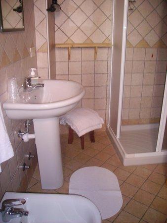 Foto del bagno Camere in agriturismo Belotti